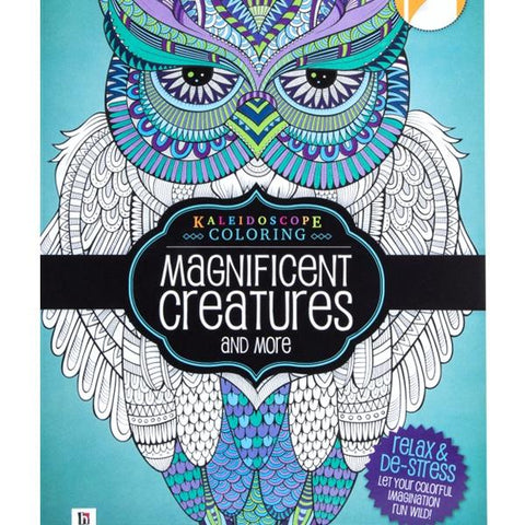 All Deals - Adult Coloring Book - Magnificent Creatures And More