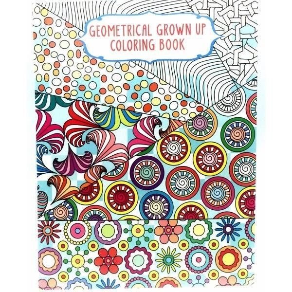 Set Of 4 Adult Coloring Books