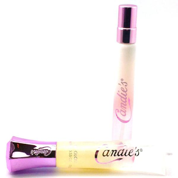 All Deals - Candie's Diamond Dust Lip Gloss And Perfume Set