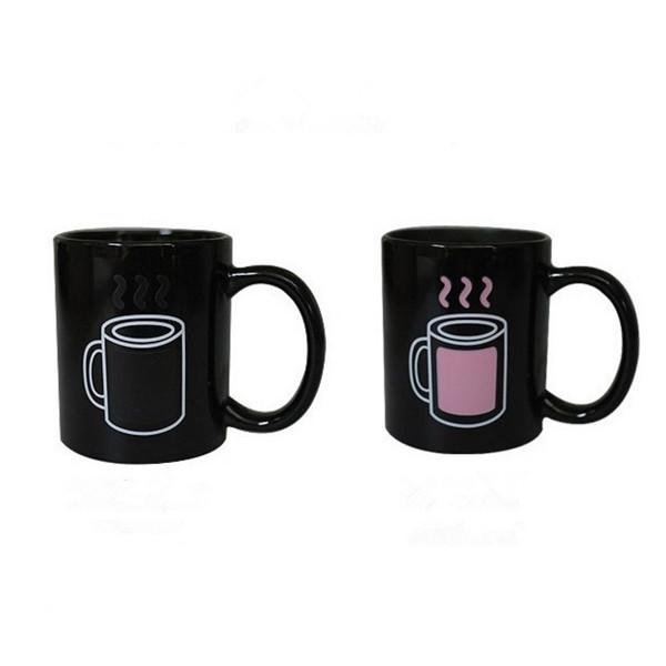 All Deals - Color Changing Temperature Hot & Cold Coffee Mug