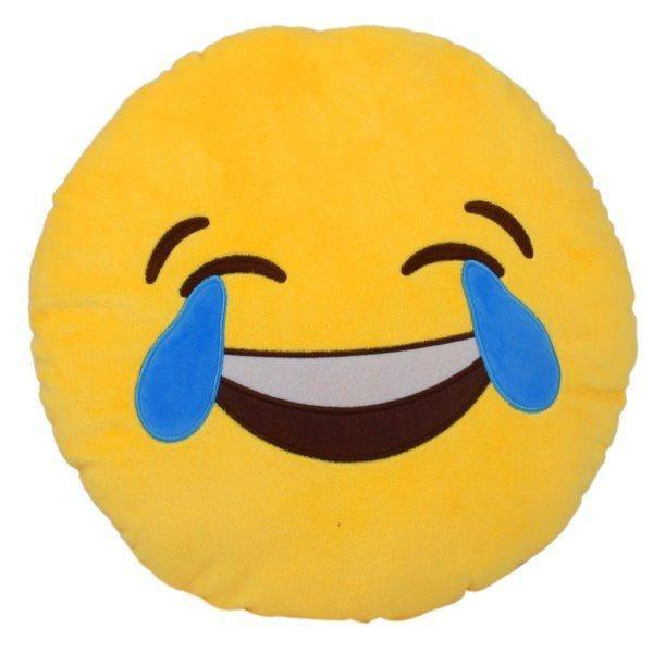 All Deals - Emoji Face W/ Tears Of Joy Cushion Pillow