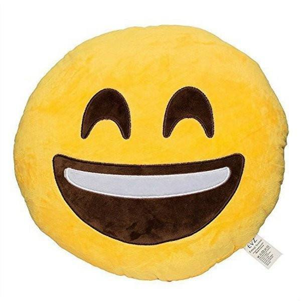 All Deals - Emoji Laugh Out Laud Cushion Pillow