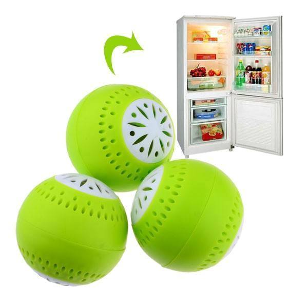 All Deals - Fridge Balls Odor Remover - 3 Or 6 Pack Options Available