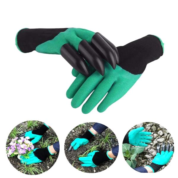 All Deals - Garden Genie Gloves With Claws