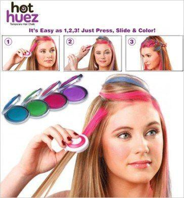 All Deals - Hot Huez Temporary Hair Chalk