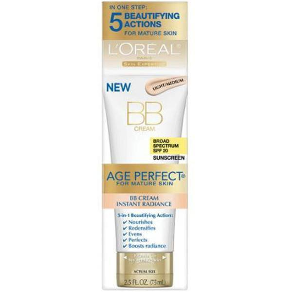 All Deals - L'Oreal Paris Age Perfect BB Cream Instant Radiance