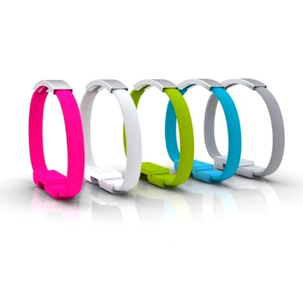 All Deals - Micro USB Charging Cable Bracelet  - Assorted Colours