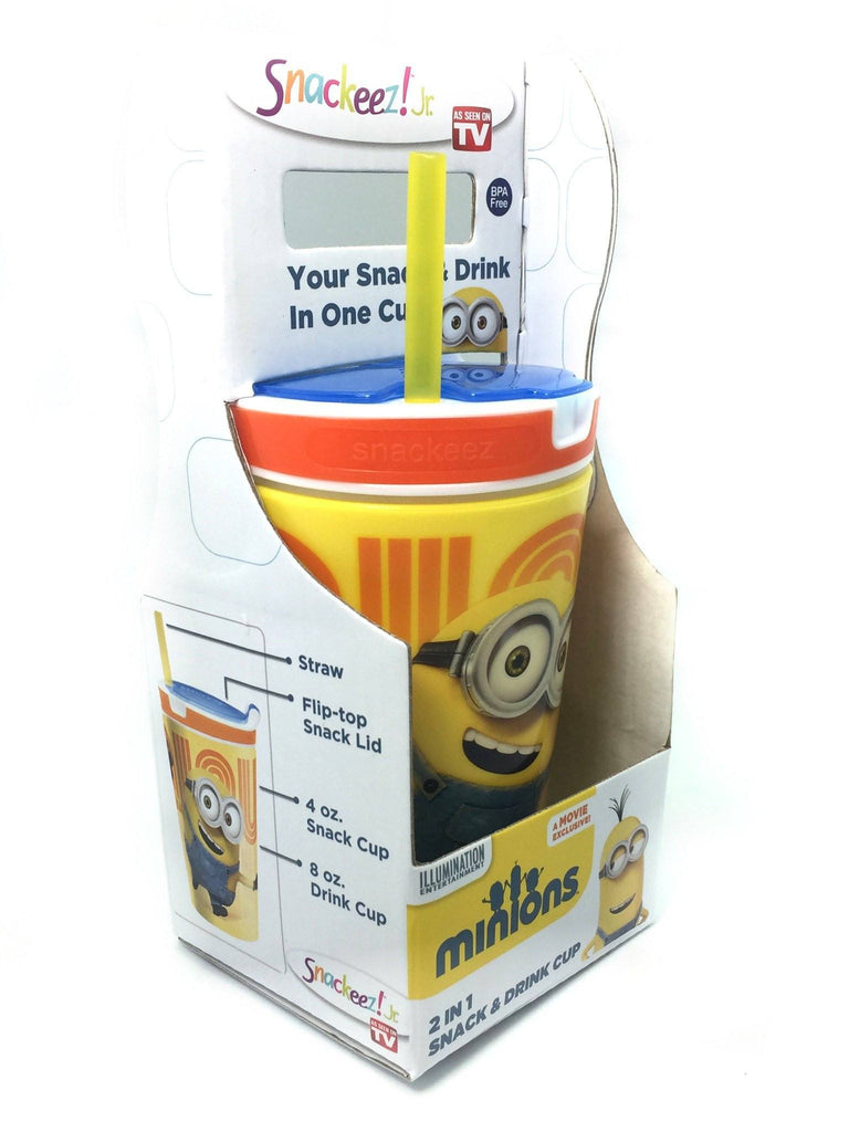 "All Deals - Minion Snackeez Jr. - "" With Bear """