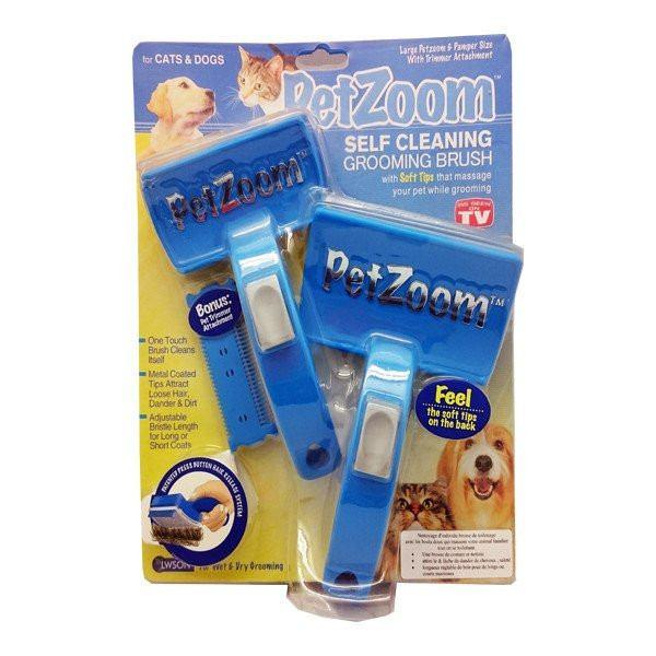 All Deals - PetZoom Self Cleaning Grooming Brush
