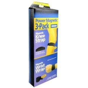 All Deals - Power Magnetic 3- Pack Knee And Wrist Strap