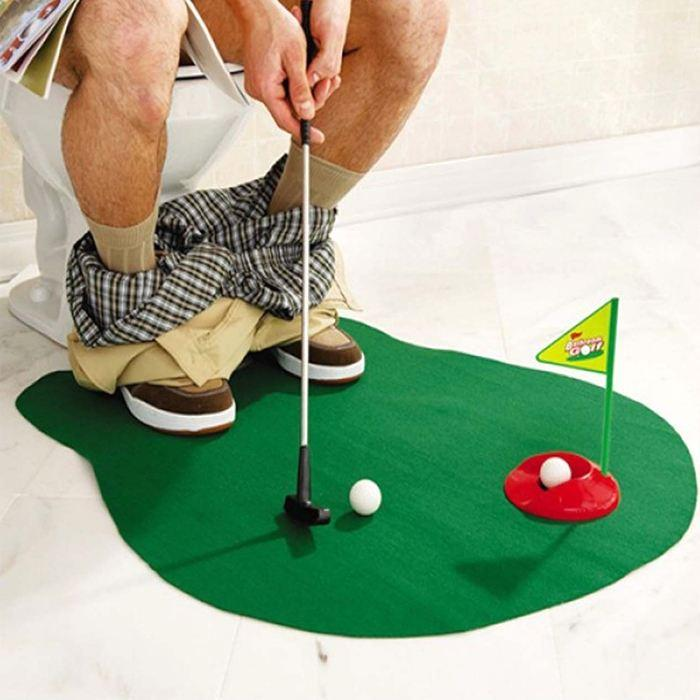 Nice All Deals   Pro Golf Player Vitality Form   Bathroom Mini Golf Game!