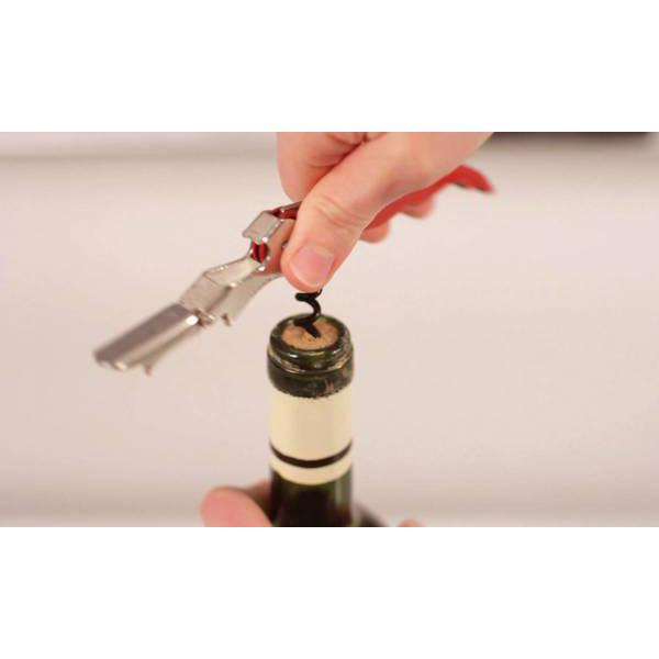 All Deals - Professional Double Hinged Corkscrew Bottle Opener