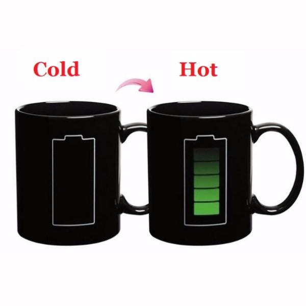 All Deals - Recharge Your Battery Colour & Graphic Changing Mug