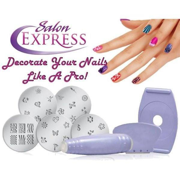 All Deals - Salon Express Nail Art Stamping Kit