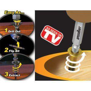 All Deals - SpeedOut Screw Extractor & Bolt Extractor Set