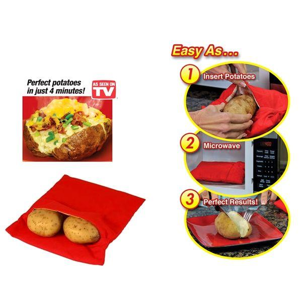 All Deals - Steam Pocket Microwavable Express Potato Cooker