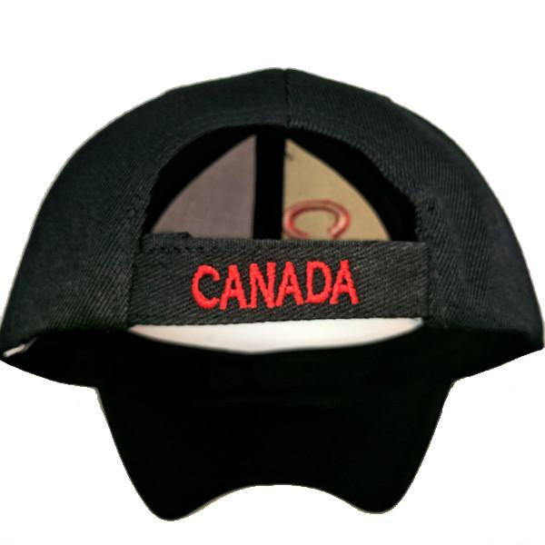 Apparel - Canada 150th Anniversary Solid Maple Leaf Stitched & Embroidered Baseball Cap - 4 Colours Available!