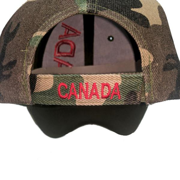 Apparel - Canada Limited Edition Camo X-Treme Scribble Logo Stitched & Embroidered Baseball Cap