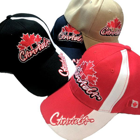 Apparel - Canada Limited Edition Mountaineer Stitched & Embroidered Baseball Cap - 4 Colours Available!