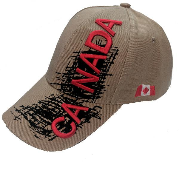 Apparel - Canada Limited Edition X-Treme Scribble Logo Stitched & Embroidered Baseball Cap - 4 Colours Available!