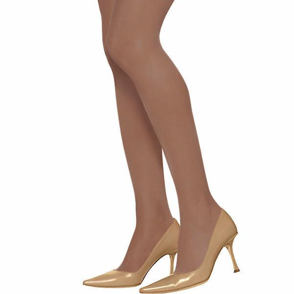 Apparel - Silky Sheer Control Top Pantyhose