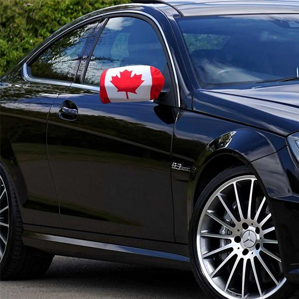 Automotive - 2 Pack: Canadian Flag Car Side View Mirror Cover