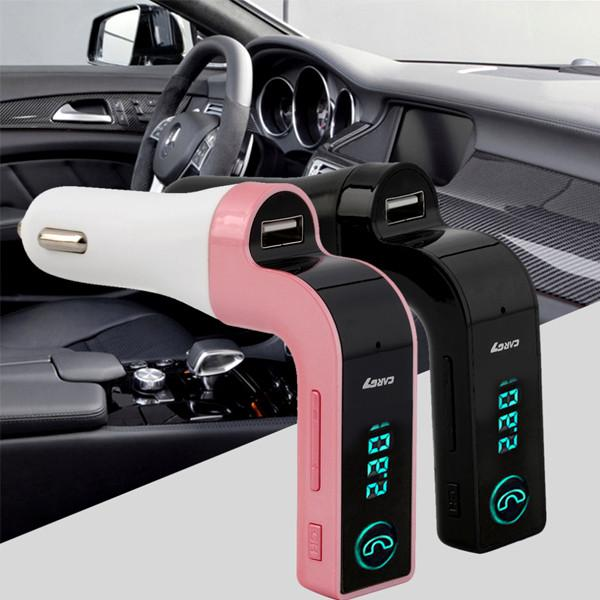 Automotive - G7 Hands-Free Car Phone Charger & Bluetooth Transmitter