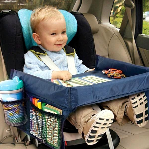 "Automotive - Kids ""On The Go"" Snack Tray - Assorted Colours"