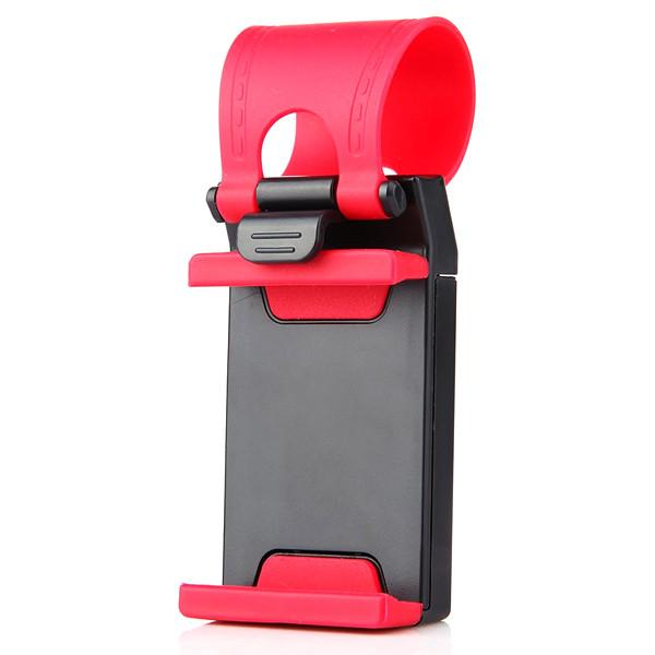 Automotive - Universal Car Steering Wheel Phone Holder Mount