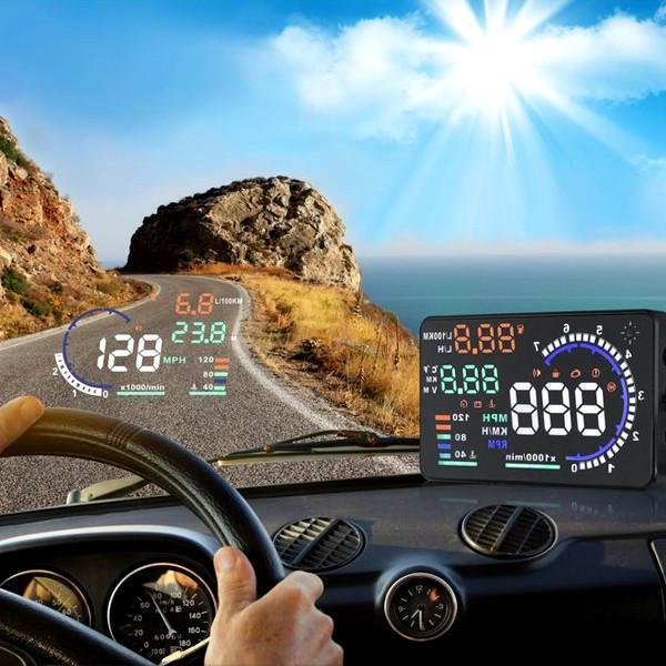 "VIP Special Price - ""Vehicle HUD Digital Windshield Projector + FREE Universal Car Phone Mount"""