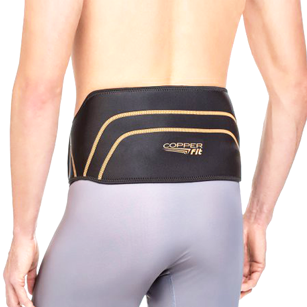 Unisex High-Quality Performance Copper-Infused Back Support