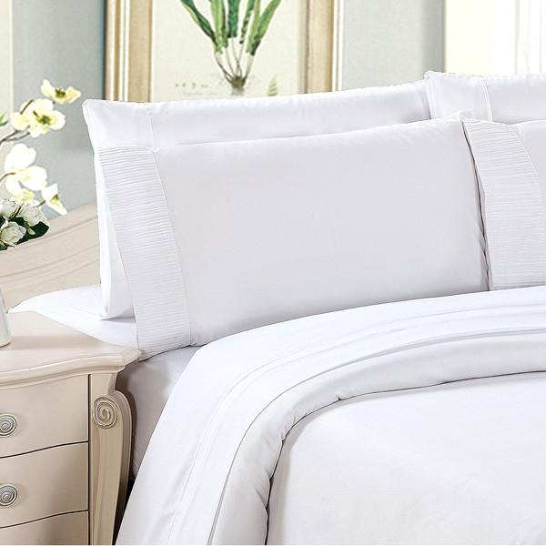 Wrinkle Resistant 6-Piece Hypoallergenic Bamboo Bed Sheet Set - 4 Sizes Available!