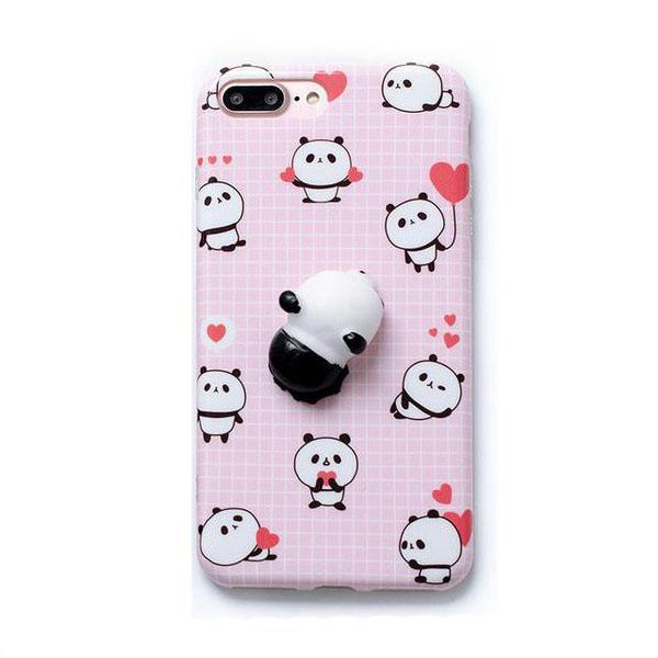 Cellphone Accessories - Love Struck Panda Massage Me Phone Case
