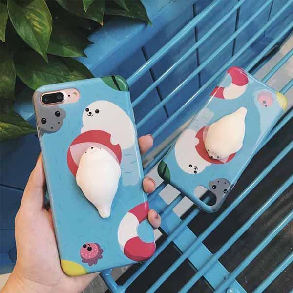 Cellphone Accessories - Pool Party Seal Massage Me Phone Case