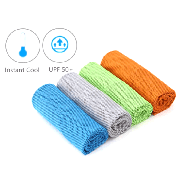 Super Absorbent Instant Cooling Towels - 4 Colors Available!