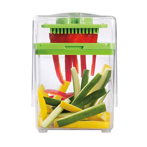 """Chop & Store"" Fruit And Vegetable Slicer & Container"