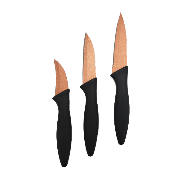 2 Pack: Super Sharp Kitchen Copper Knife + FREE SHIPPING