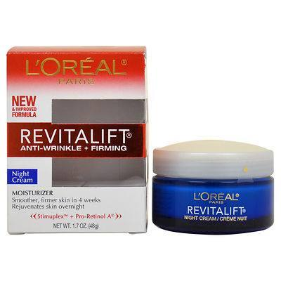 Cosmetics - L'OREAL REVITALIFT® Anti-Wrinkle + Firming Night Cream