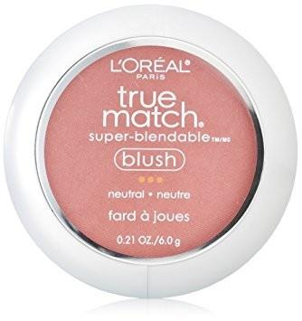 Cosmetics - L'Oreal True Match Super Blendable Blush Neutral Apricot Kiss 0.21 Oz