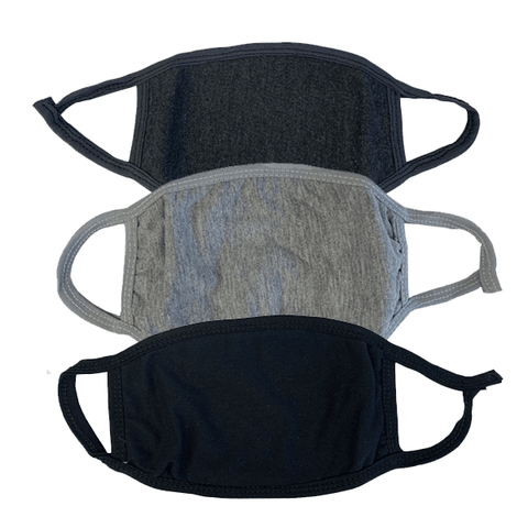 3 Pieces: Reusable Colored Cotton Fashion Mask