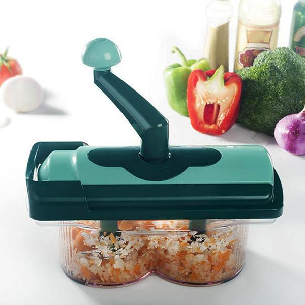 All-In-1 Dual-Blade Fruit & Vegetable Slicer