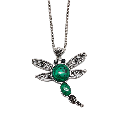 Freespirit Dragonfly Pendant & Chain Necklace