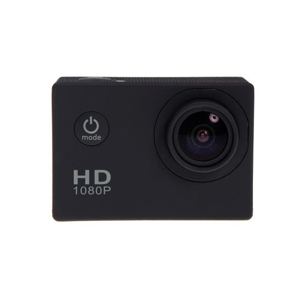 Electronics - 1080P Full HD Waterproof Sports Action Camera And Mounting Kit