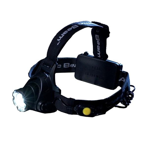 Electronics - 5000 Lux Tactical Military-Grade Adjustable-Focus LED Headlamp With 3 Beam Modes