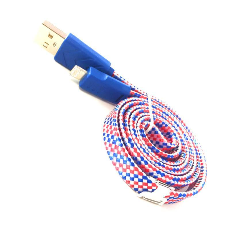 Electronics - Braided Tangle Free Lightning Iphone Cable - 3ft