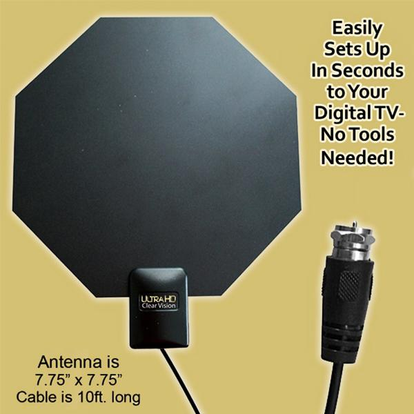 Electronics - Ultra HD Clear Vision TV Antenna