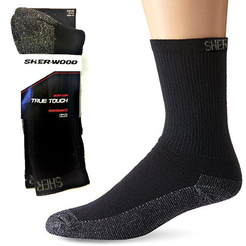 Fashion - 3 Pairs SHER-WOOD True Touch Men's Socks
