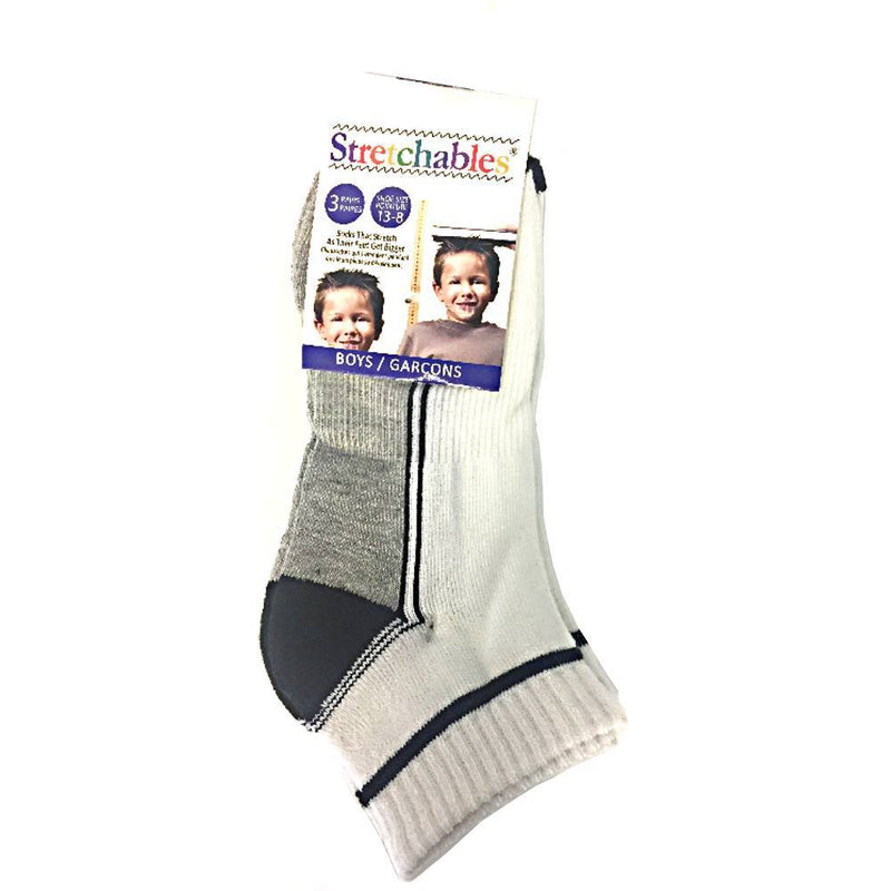 Fashion - 3 Pairs Stretchables Kids Socks -Boys