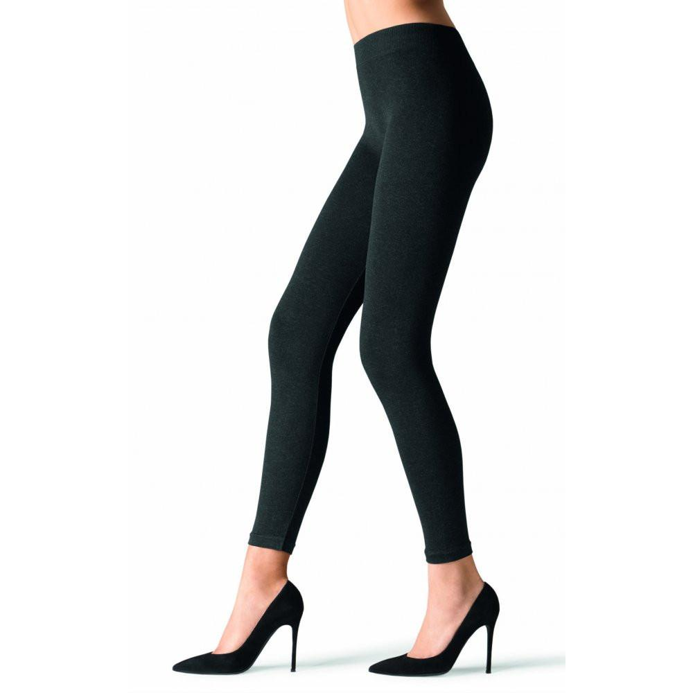 Fashion - Ultra Opaque Fleece Lined Footless Tights