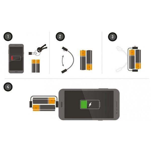 Gadgets - The World's Smallest Portable Emergency Phone Charger